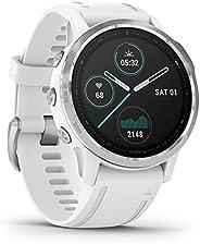 Garmin Fenix 6S, Premium Multisport GPS Smartwatch, White With White Band