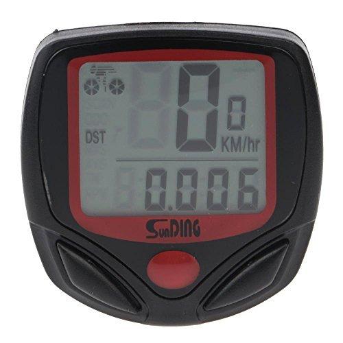 SD548B 防水 14 機能自転車LCD  サイクルメーター サイクルコンピューター スピードメーター 走行距離計 走行時間計 防水 14功能がある
