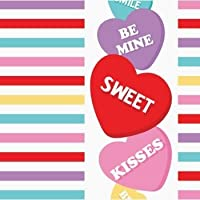Candy Sweets Valentine 's Day Lunch Napkins 181パック