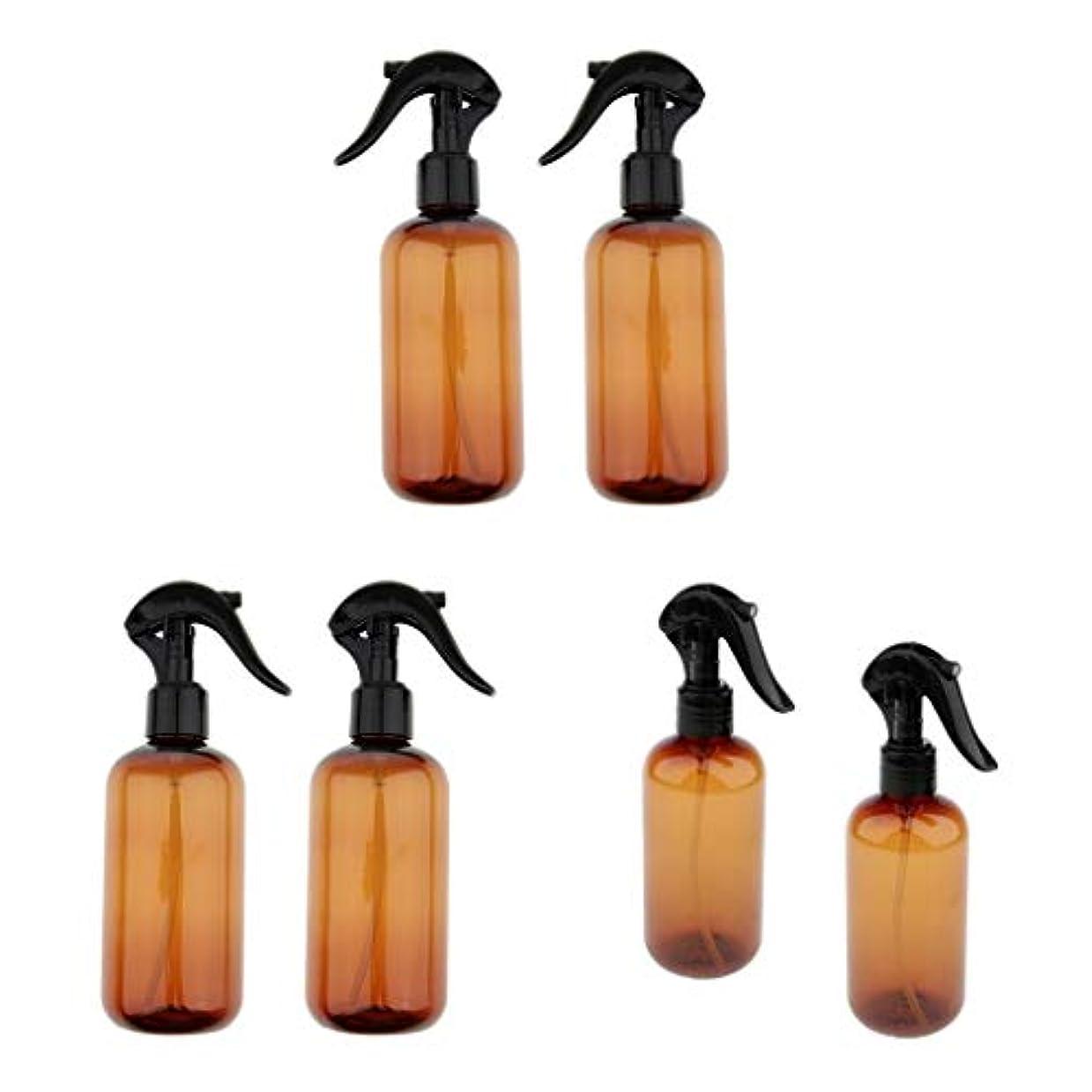 反逆者ポケット告白する6個 スプレーボトル 詰替え容器 小分けボトル トラベルボトルプラスチックボトル 霧吹き 250ml