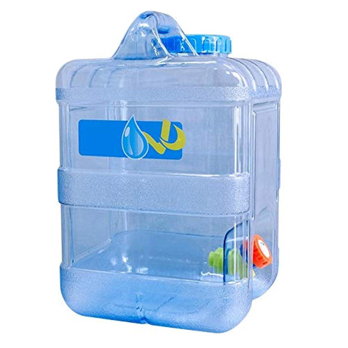愚かなリレーまだらウォータータンク 水缶 緊急用 アウトドア 非常用 防災 持ち運び便利 大容量、緊急用ウォーターアウトドア収納ポータブル、キャンプ/ハイキング/クライミング、15L