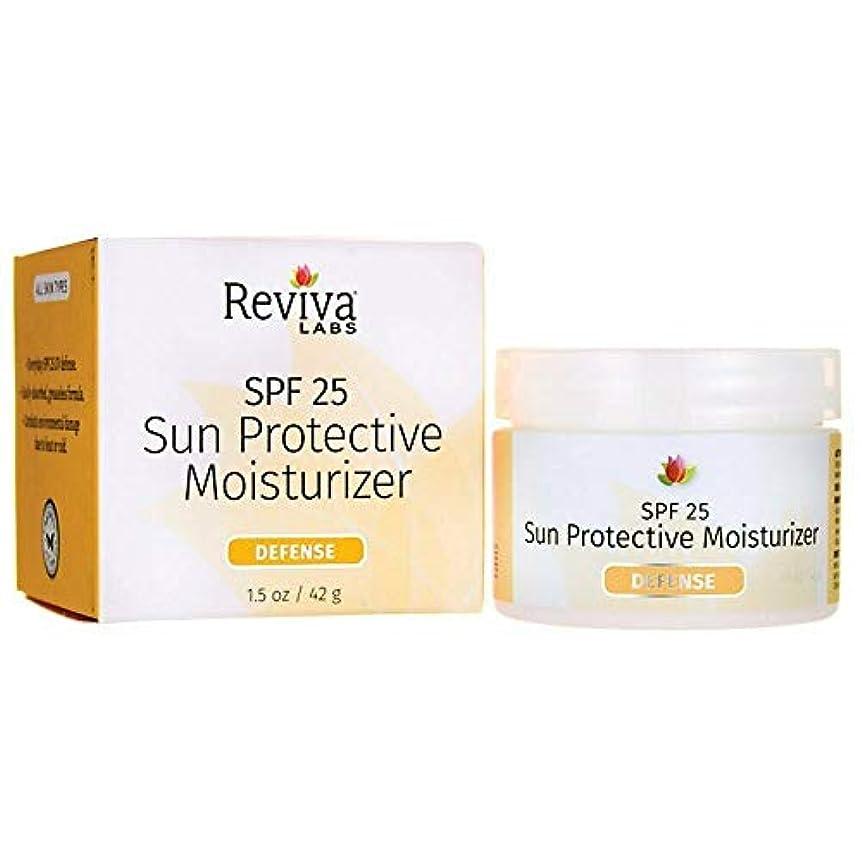 電気技師転倒ダウン海外直送品 Reviva Sun Protection Moisturizer, SPF25 1.5 FL Oz