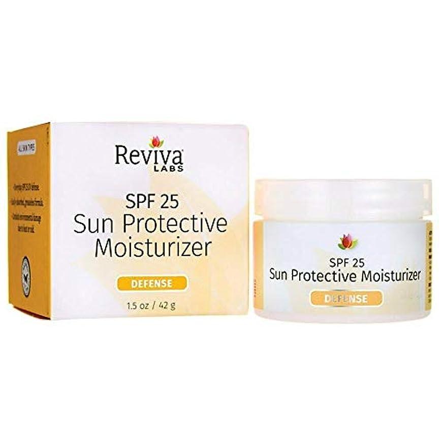 ヒゲクジラ痛みギャンブル海外直送品 Reviva Sun Protection Moisturizer, SPF25 1.5 FL Oz