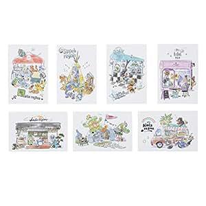 ポケモンセンターオリジナル ポストカード7枚セット Pokémon World Market