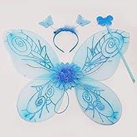 光る妖精の羽根 フラッシュフェアリーセット (ブルー) 10309