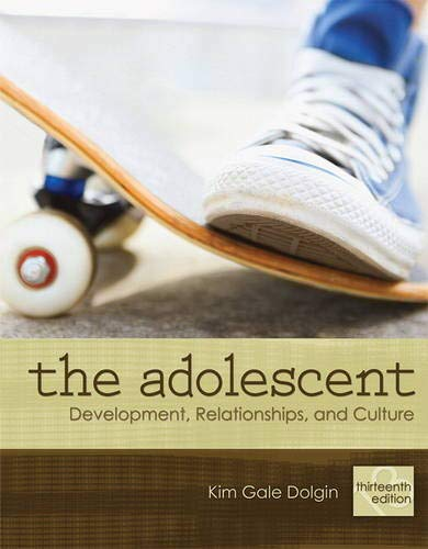 Download Adolescent, The: Development, Relationships, and Culture (Mydevelopmentlab (Access Codes)) 0205731368