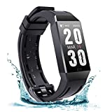 FRSWAY Fitness Trackers, Activity Trackers,Bluetooth Smart Watch - Heart Rate Blood Pressure Sleep Monitor, Calorie Counter Pedometer for Men Women and Kids
