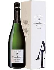 【ブラックベリーやプラムの香りが高い、最高のコスパ・シャンパン】シャンパーニュ・アルベール・ルブラン・ブランド・ノ・ワール・ エクストラ・ブリュット ギフト箱付き 750ml [ フランス/スパークリング/辛口/winery direct ]