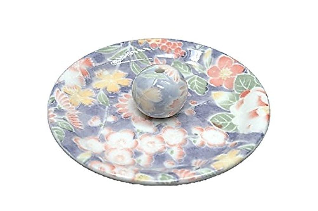 ほこり地中海呼吸する9-28 華友禅 9cm香皿 お香立て お香たて 陶器 日本製 製造?直売品