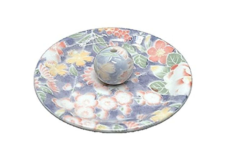 蒸留レーニン主義秘密の9-28 華友禅 9cm香皿 お香立て お香たて 陶器 日本製 製造?直売品