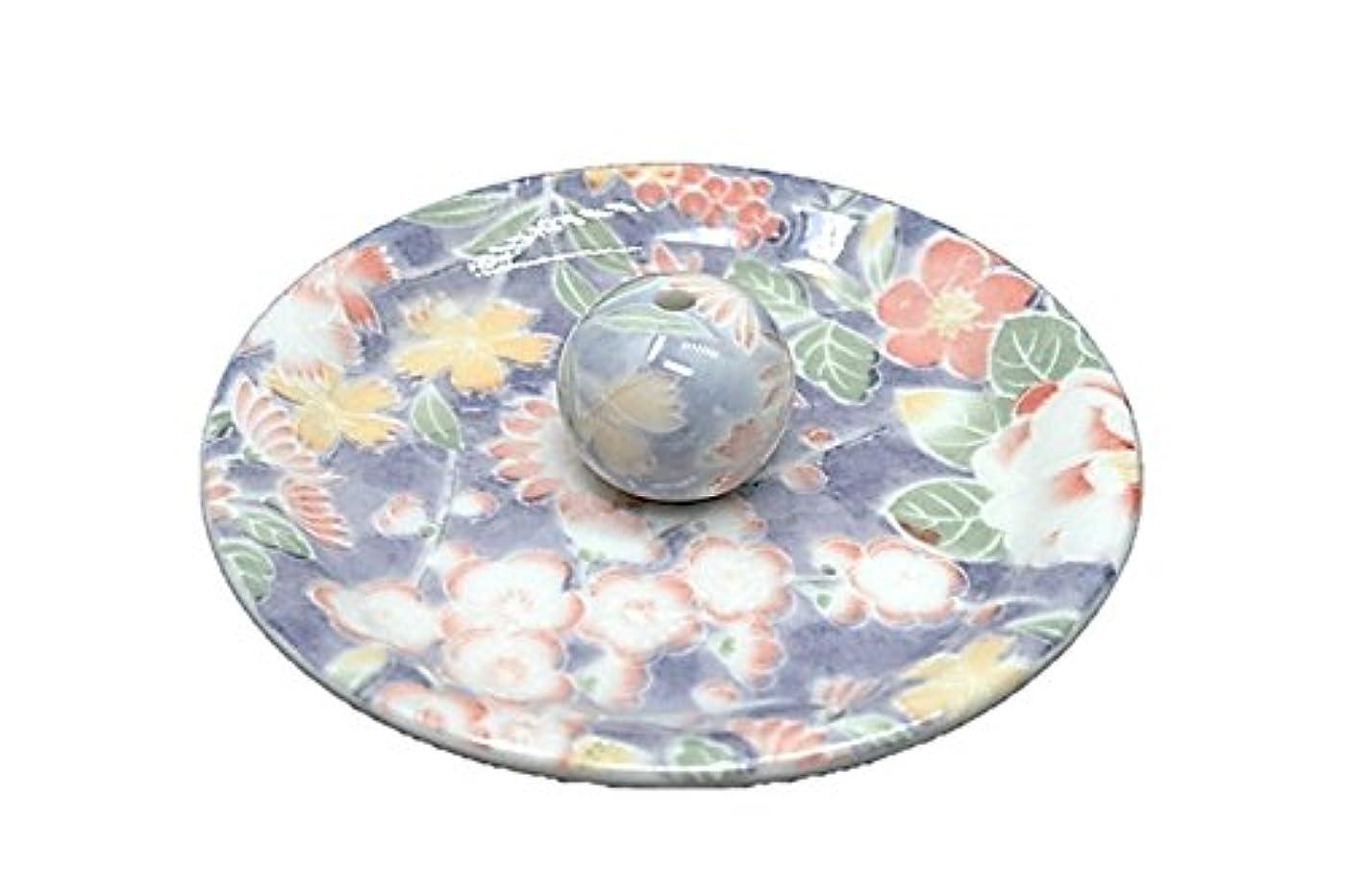 ホール囲まれたニッケル9-28 華友禅 9cm香皿 お香立て お香たて 陶器 日本製 製造?直売品