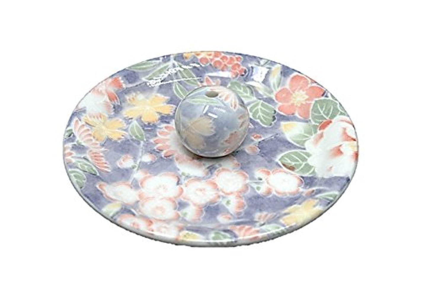 バドミントンストレス例示する9-28 華友禅 9cm香皿 お香立て お香たて 陶器 日本製 製造?直売品