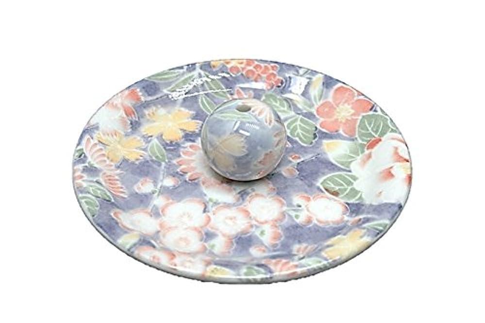 飾り羽ライド断言する9-28 華友禅 9cm香皿 お香立て お香たて 陶器 日本製 製造?直売品