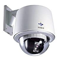 高速・高精度 回転・ズーム型カメラ 光学18倍ズーム TH-Z2621 最高品質の駆動部、世界最小音圧駆動音16dBを実現 東邦技研