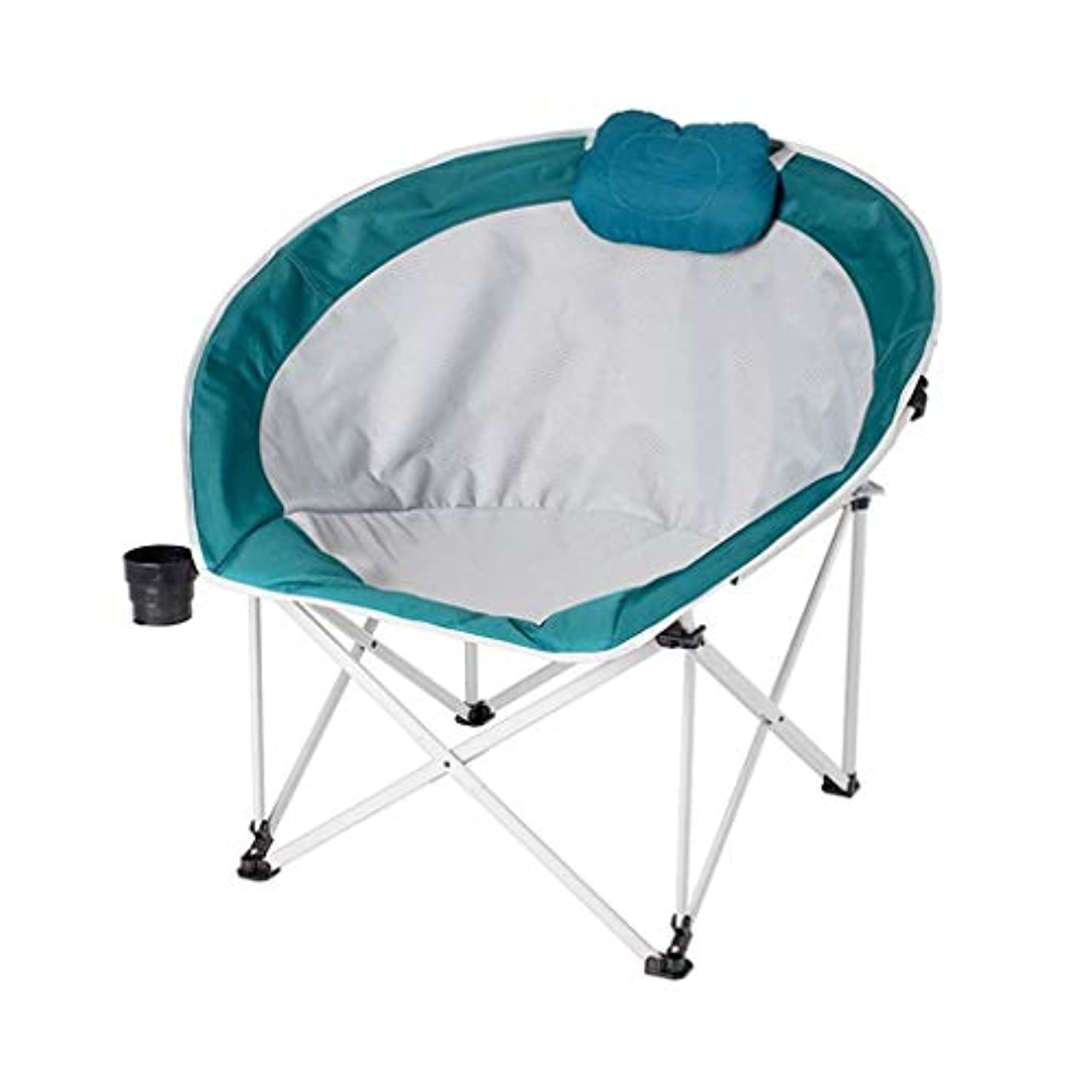 許す届ける普遍的なYIZHUO ハイキング/旅行/狩猟/釣り用の折りたたみ椅子ビーチチェアキャンプ屋外超軽量ポータブル折りたたみチェア (Color : Blue)