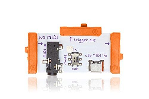littleBits 電子回路 モジュール MIDIコントロール用 BITS MODULES MIDI