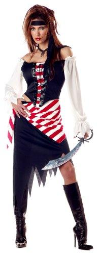 Ruby the Pirate Beauty Adult Costume Rubyの海賊美容大人用コスチューム♪ハロウィン♪サイズ:Medium (8-10)