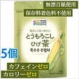 【韓国食品/韓国お茶/清浄園/チョンジョンウォン】有機農 とうもろこしのひげ茶 ティバック150g X5個