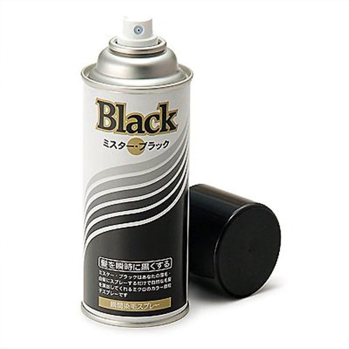 概してポスター水増毛スプレー剤で薄毛を瞬時で増毛にするミスターブラック1本