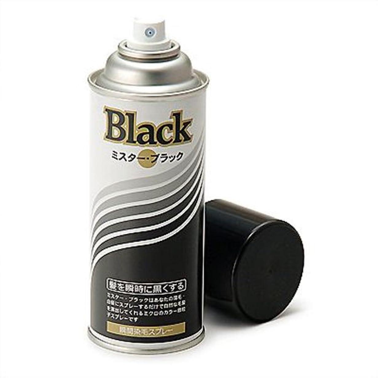 気味の悪い自発的いとこ増毛スプレー剤で薄毛を瞬時で増毛にするミスターブラック1本