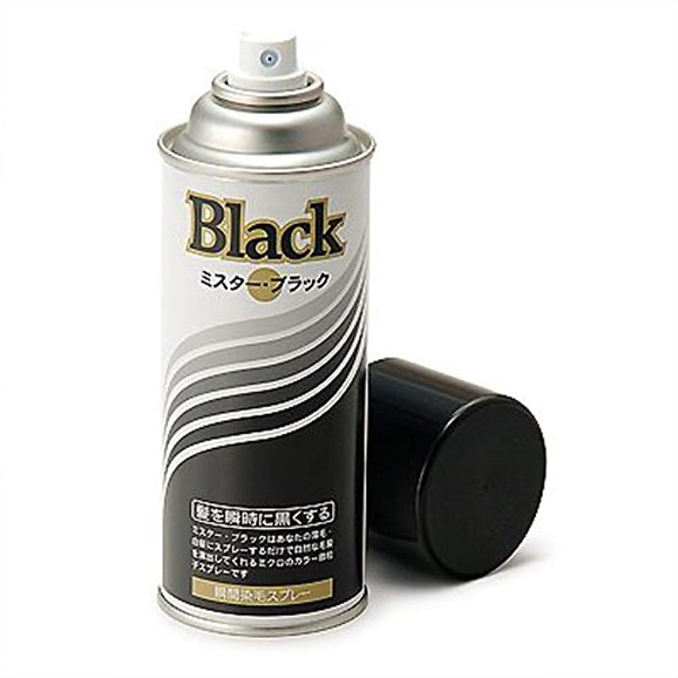 中国喜ぶハイジャック増毛スプレー剤で薄毛を瞬時で増毛にするミスターブラック1本