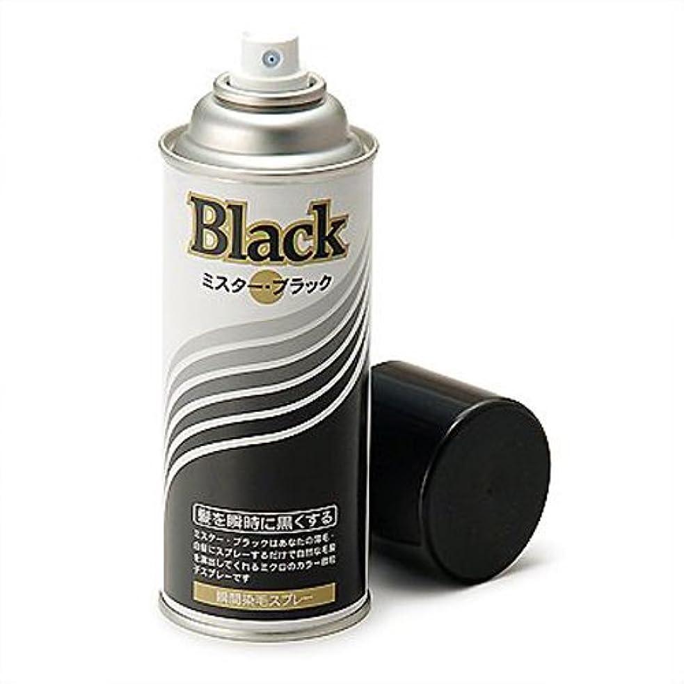 増毛スプレー剤で薄毛を瞬時で増毛にするミスターブラック1本