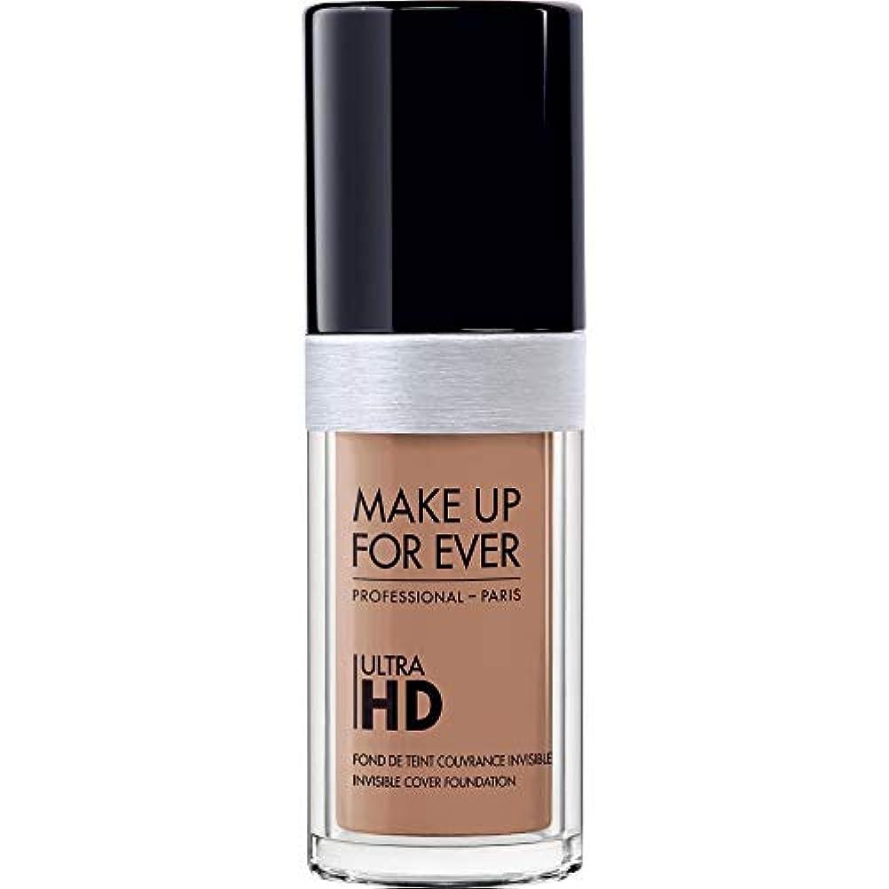 ライラックショルダーボイド[MAKE UP FOR EVER ] 目に見えないカバーファンデーション30ミリリットルのY435 - - これまでの超Hdの基盤を補うキャラメル - MAKE UP FOR EVER Ultra HD Foundation...