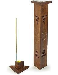 香炉 – 木製三角形タワー