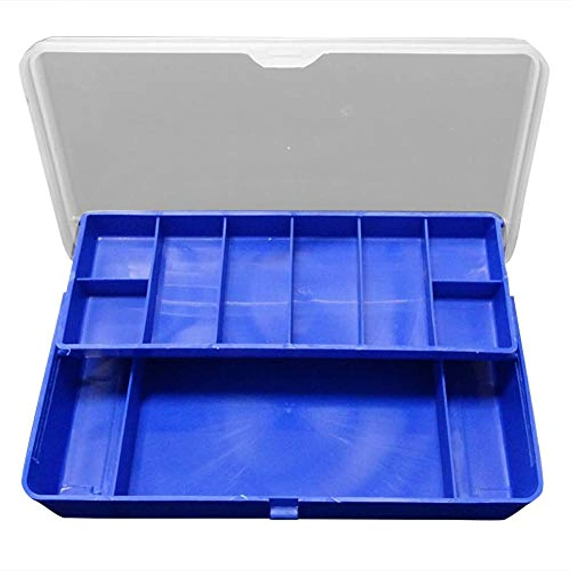 ネックレットなる騒ぎk-outdoor フックケース ルアーケース タックルボックス 釣り収納ケース 大容量
