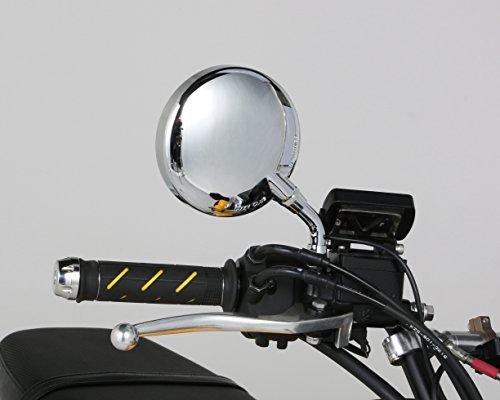 キタコ(KITACO) Z-IIミニミラー(10mm) ショートステータイプ 汎用 メッキ 675-0603111