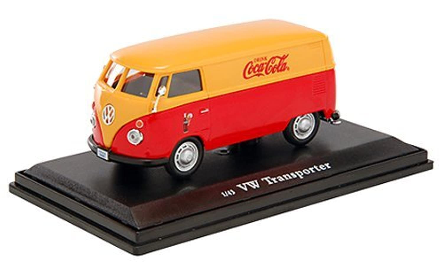 Coca - Cola Collectibles 1 / 43 VWカーゴバン1962レッド&イエロー