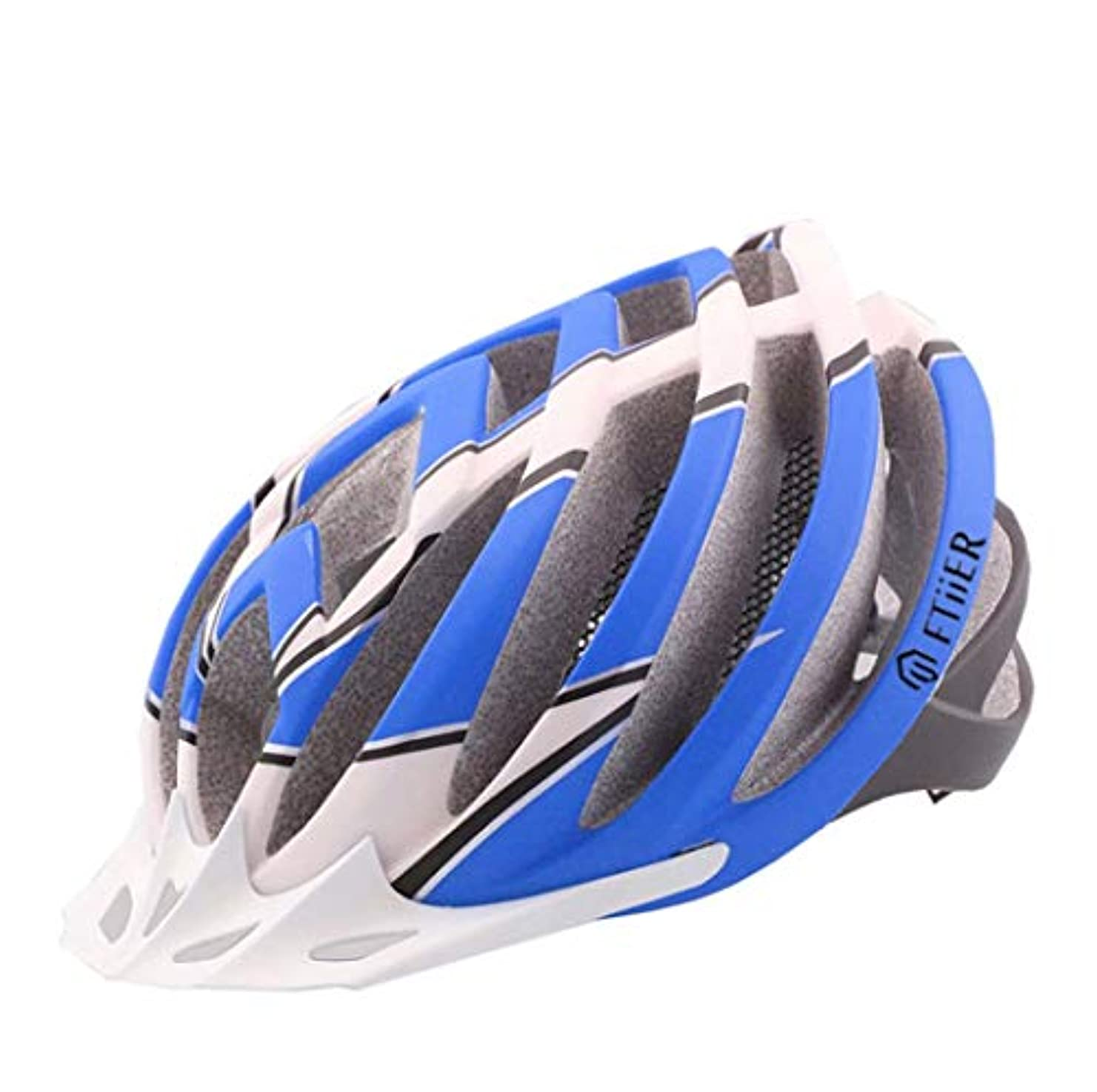 マーキングその間反響する自転車ヘルメット, 軽量サイクリングヘルメット pc 屋外自転車ヘルメット男性と女性の若者のスポーツヘルメットを調整するのは簡単