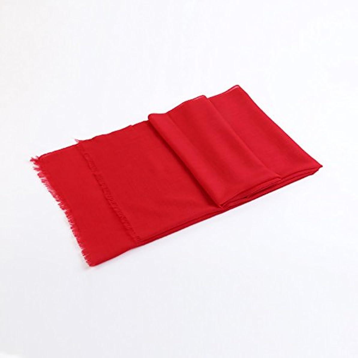 ファイター拘束する電卓プレーンカラーフリーススカーフティペット冬秋暖かいネッカー柔らかい二重目的 (色 : Red 1)