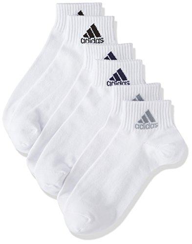 (アディダス)adidas ソックス 3足セット 無地ショート丈 06002W 001 アソート001 24(24cm)