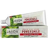 Jason Natural, PowerSmile, Antiplaque & Whitening Paste, Powerful Peppermint, 6 oz (170 g)