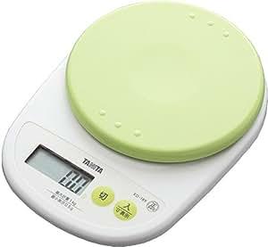 タニタ デジタルクッキングスケール 1kg(0.5g単位) ピスタチオグリーン KD-189-GR