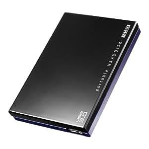 アイ・オー・データ機器 USB 3.0/2.0対応 ポータブルハードディスク「超高速カクうす」ブラック 2TB HDPC-UT2.0KC