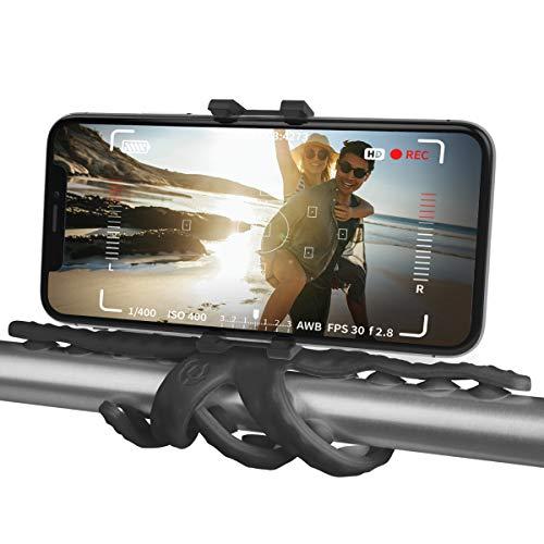 SQUIDDY スマートフォン カメラ用 触手スタンド (ブラック)