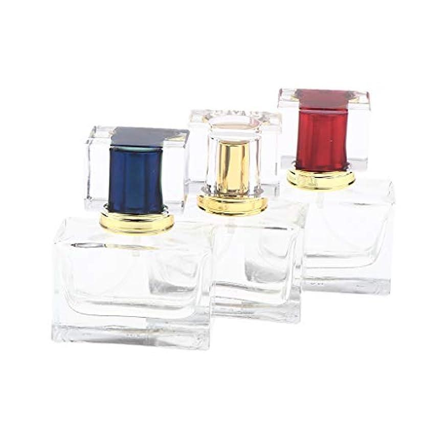 無駄な機械的データム香水アトマイザー スプレーボトル 詰め替え容器 香水瓶 小型 旅行 持ち運び ロック可能 30ML