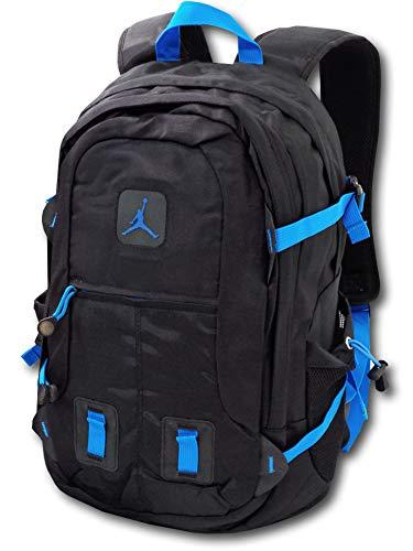 26063f559b72 (Jordan)ジョーダン Jumpman Backpack リュック (黒オリオンブルー) [並行輸入品
