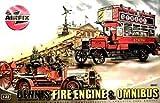 エアフィックス 1/32 オムニバス デニス 消防車 2両セット  09441
