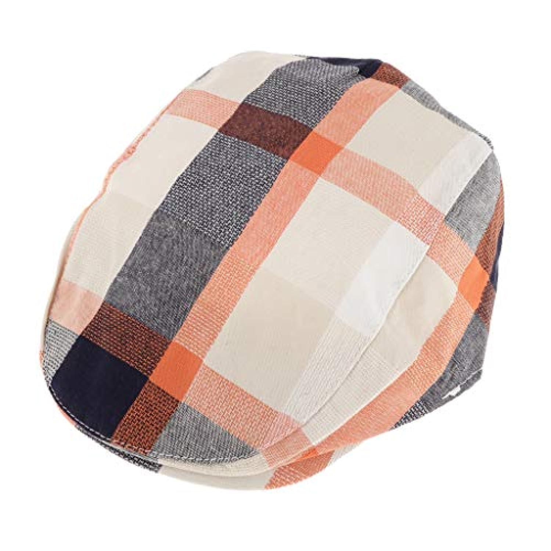 B Blesiya 子供 ハンチング フラットキャップ 帽子 ハット ハンチング帽 ベレー帽 春秋冬 軽量 全4色