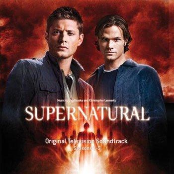 SUPERNATURAL スーパーナチュラル オリジナル サウンドトラック 第1-5シーズン OST CD