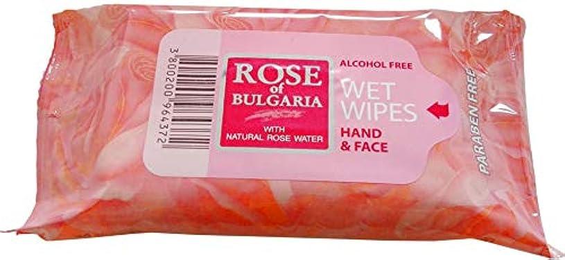 メアリアンジョーンズ北米ブレーキBiofresh Rose of Bulgaria ローズのティッシュは、手と顔に15パッケージ