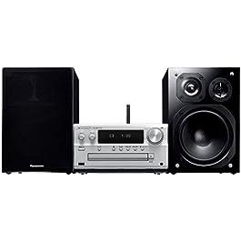 パナソニック CDステレオシステム ハイレゾ音源対応 SC-PMX100-S