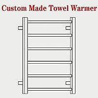 カスタムメイドタオルウォーマー、電気壁掛けタオルウォーマー乾燥ラック、あなたのためのカスタムメイドのユニークなタオルヒーター,Hardwire