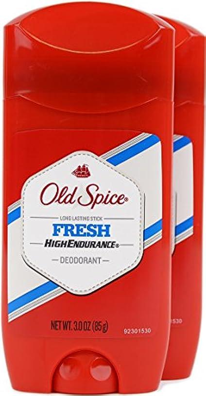 誤批判するアラスカオールドスパイス(Old Spice) 固形デオドラント スティック フレッシュ 85g×2個[並行輸入品]