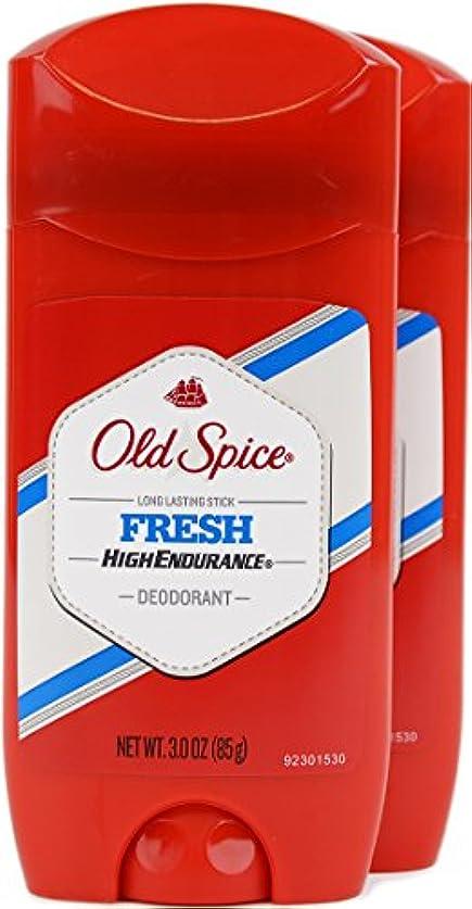 キリマンジャロ主導権ショッキングオールドスパイス(Old Spice) 固形デオドラント スティック フレッシュ 85g×2個[並行輸入品]