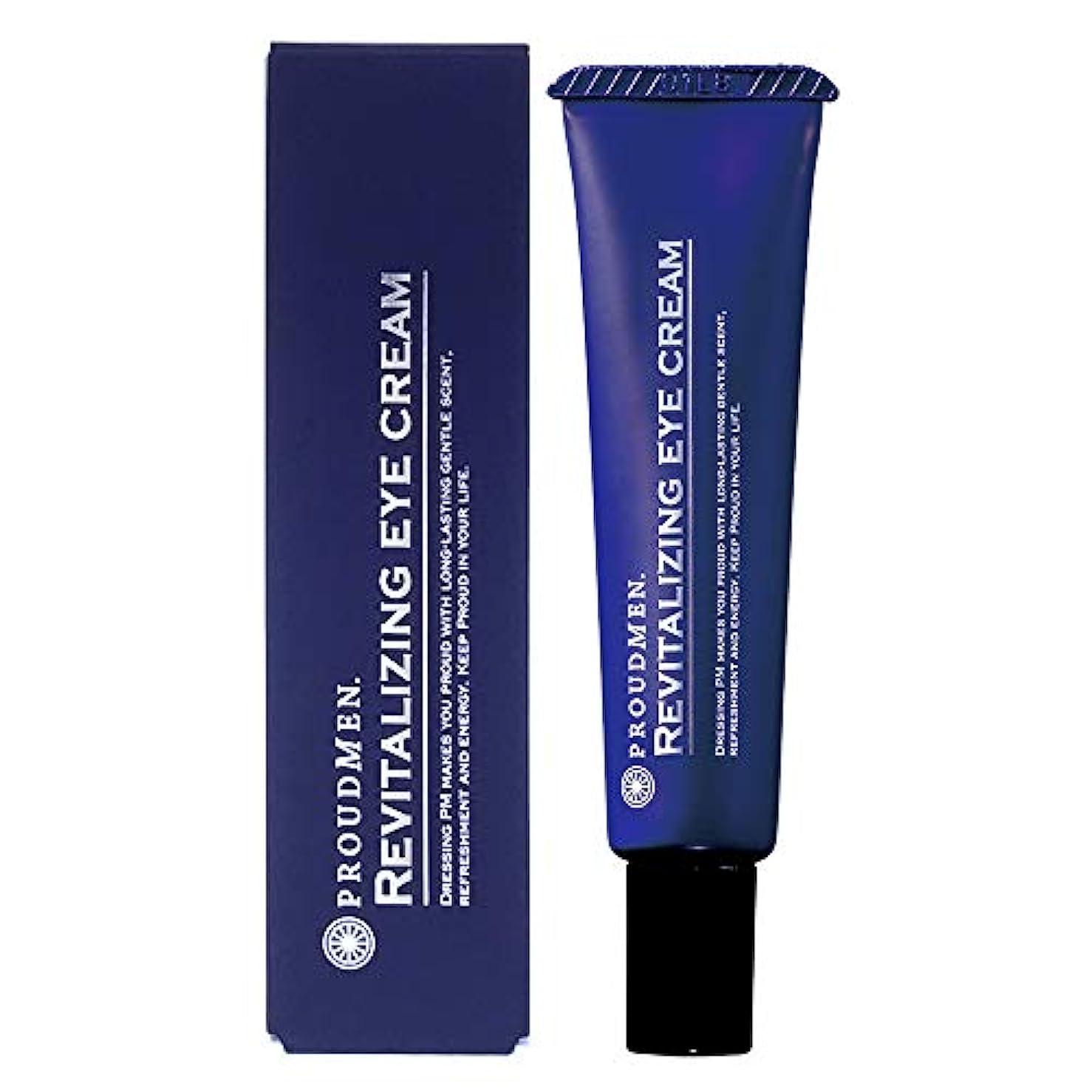 うまメタン数プラウドメン リバイタライジングアイクリーム 12g (グルーミング?シトラスの香り) 目元クリーム メンズコスメ 男性用化粧品