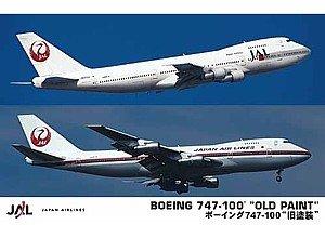 1/200 旅客機シリーズ 日本航空 ボーイング 747-100 旧塗装 (2機セット)